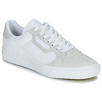 kengät Matalavartiset tennarit adidas Originals CONTINENTAL VULC White / Beige