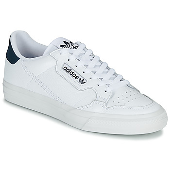 kengät Matalavartiset tennarit adidas Originals CONTINENTAL VULC White
