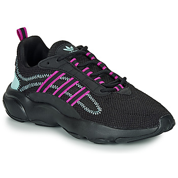 kengät Naiset Matalavartiset tennarit adidas Originals HAIWEE W Black / Violet
