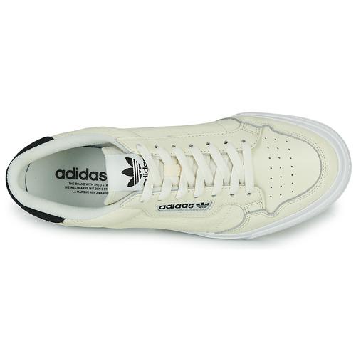Adidas Originals Continental Vulc Beige - Ilmainen Toimitus- Kengät Matalavartiset Tennarit