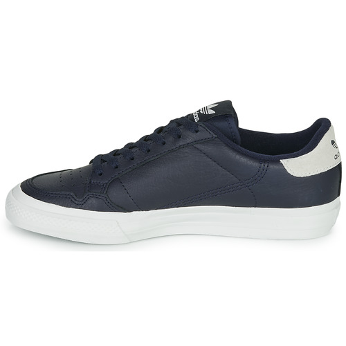 Adidas Originals Continental Vulc Blue - Ilmainen Toimitus- Kengät Matalavartiset Tennarit
