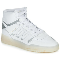 kengät Miehet Korkeavartiset tennarit adidas Originals DROP STEP White