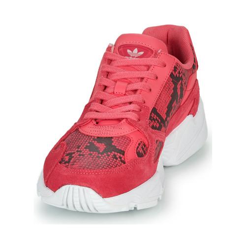 Adidas Originals Falcon W Pink - Ilmainen Toimitus- Kengät Matalavartiset Tennarit Naiset 71