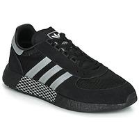 kengät Matalavartiset tennarit adidas Originals MARATHON TECH Musta / Valkoinen