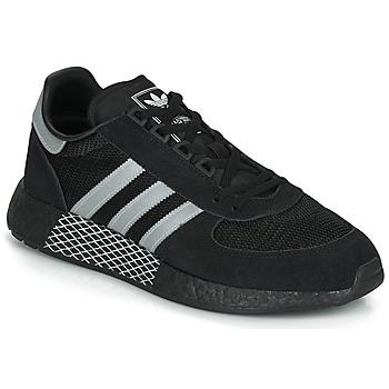 kengät Matalavartiset tennarit adidas Originals MARATHON TECH Black / White