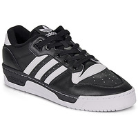 kengät Miehet Matalavartiset tennarit adidas Originals RIVALRY LOW Black / White