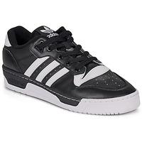 kengät Matalavartiset tennarit adidas Originals RIVALRY LOW Musta / Valkoinen