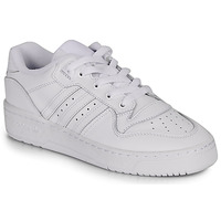 kengät Naiset Matalavartiset tennarit adidas Originals RIVALRY LOW W White