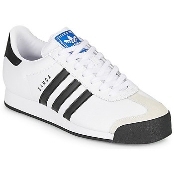 kengät Matalavartiset tennarit adidas Originals SAMOA White / Black