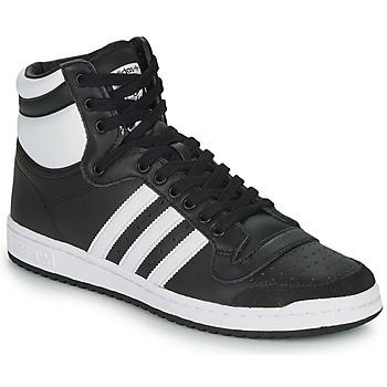 kengät Korkeavartiset tennarit adidas Originals TOP TEN HI Black