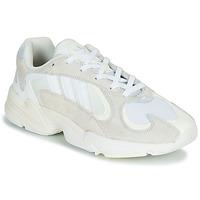 kengät Miehet Matalavartiset tennarit adidas Originals YUNG 1 Valkoinen