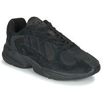 kengät Miehet Matalavartiset tennarit adidas Originals YUNG 1 Musta