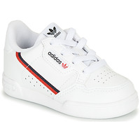 kengät Lapset Matalavartiset tennarit adidas Originals CONTINENTAL 80 I White