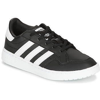 kengät Lapset Matalavartiset tennarit adidas Originals Novice C Black / White