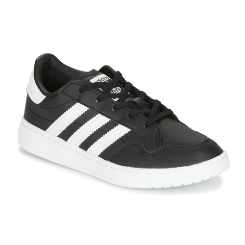 kengät Lapset Matalavartiset tennarit adidas Originals Novice C Black / White