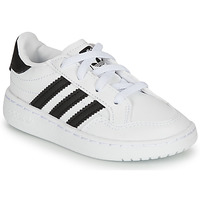 kengät Lapset Matalavartiset tennarit adidas Originals NOVICE EL I White / Black
