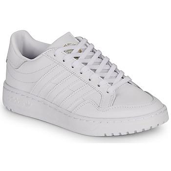 kengät Lapset Matalavartiset tennarit adidas Originals Novice J White