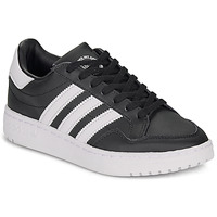 kengät Lapset Matalavartiset tennarit adidas Originals Novice J Black / White