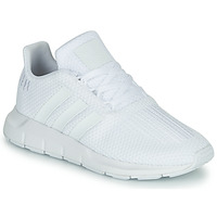 kengät Pojat Matalavartiset tennarit adidas Originals SWIFT RUN C White