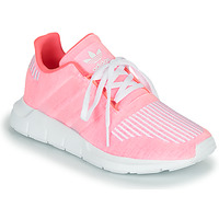 kengät Tytöt Matalavartiset tennarit adidas Originals SWIFT RUN J Pink