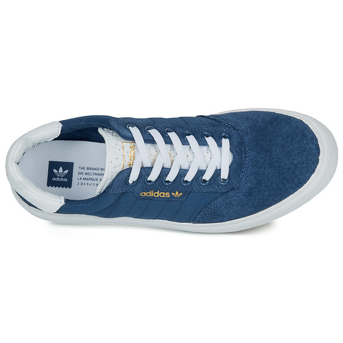 Naisten kengät adidas Originals 3MC Laivastonsininen  kengät Matalavartiset tennarit 5359