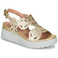 kengät Naiset Sandaalit ja avokkaat Stonefly PARKY 9 Kulta
