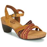 kengät Naiset Sandaalit ja avokkaat Think TRAUDI Yellow / Red