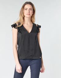 vaatteet Naiset Topit / Puserot Guess SS DAHAB TOP Black