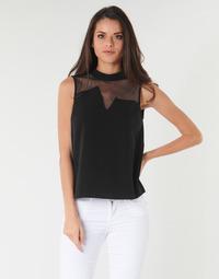 vaatteet Naiset Topit / Puserot Guess SL MAYA TOP Black