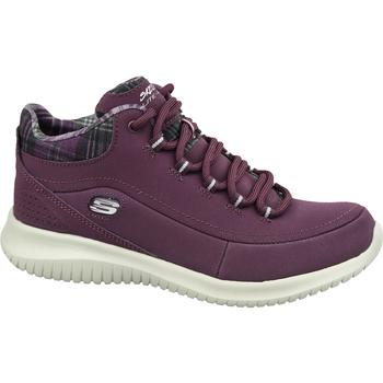 kengät Naiset Vaelluskengät Skechers Ultra Flex 12918-BURG