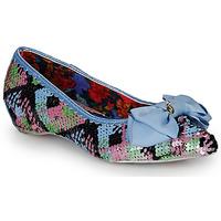 kengät Naiset Balleriinat Irregular Choice MINT SLICE Vaaleanpunainen / Sininen