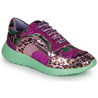 kengät Naiset Matalavartiset tennarit Irregular Choice JIGSAW Violetti
