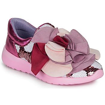 kengät Naiset Matalavartiset tennarit Irregular Choice RAGTIME RUFFLES Pink