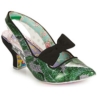 kengät Naiset Korkokengät Irregular Choice PARADOX Green / Black