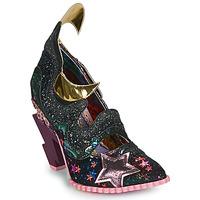 kengät Naiset Korkokengät Irregular Choice GALACTIC THUNDER Musta