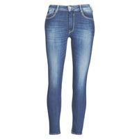 vaatteet Naiset Slim-farkut Le Temps des Cerises PULP SLIM TAILLE HAUTE 7/8 Sininen
