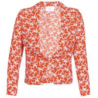 vaatteet Naiset Takit / Bleiserit Le Temps des Cerises KARMA Liila / violetti / punainen