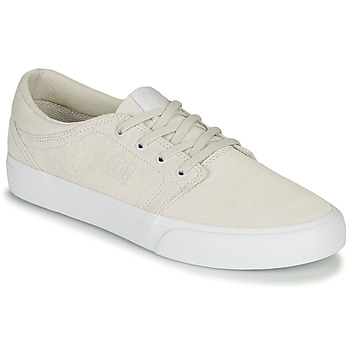 kengät Miehet Matalavartiset tennarit DC Shoes TRASE SD Beige