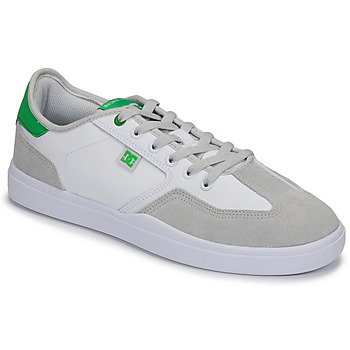 kengät Miehet Matalavartiset tennarit DC Shoes VESTREY White / Green