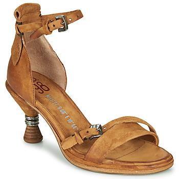 kengät Naiset Sandaalit ja avokkaat Airstep / A.S.98 SOUND Camel