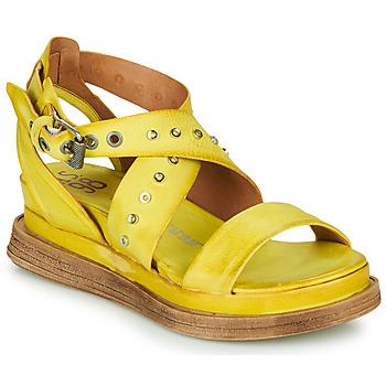 kengät Naiset Sandaalit ja avokkaat Airstep / A.S.98 LAGOS 2 Yellow