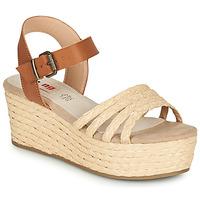 kengät Naiset Sandaalit ja avokkaat MTNG GARISSON Beige