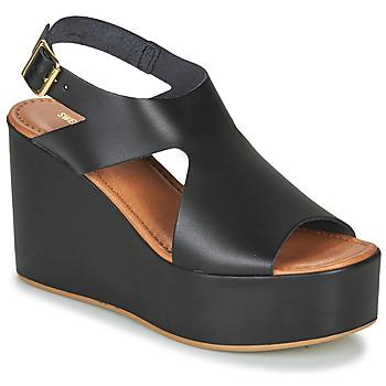 kengät Naiset Sandaalit ja avokkaat Sweet Lemon IJOX Musta