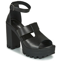 kengät Naiset Sandaalit ja avokkaat Sweet Lemon LORIS Black