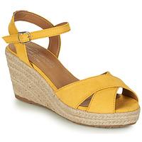 kengät Naiset Sandaalit ja avokkaat Tom Tailor 8090105 Yellow