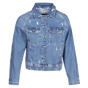 vaatteet Naiset Farkkutakki Esprit ESPRILA Sininen