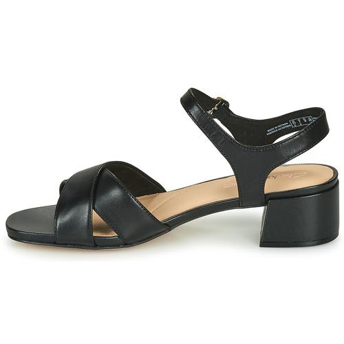 Clarks SHEER35 STRAP Black 16644855 Naisten kengät