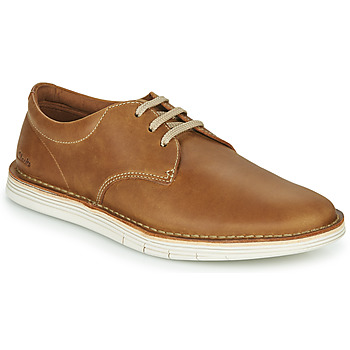 kengät Miehet Derby-kengät Clarks FORGE VIBE Ruskea