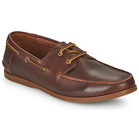 kengät Miehet Derby-kengät Clarks PICKWELL SAIL Brown