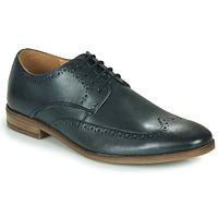kengät Miehet Derby-kengät Clarks STANFORD LIMIT Laivastonsininen